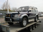 We move large 4x4's, vans, and any vehicle up to a gross weight of 2.5 tons. - click to enlarge