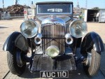 We transported this Gorgeous 1933 Lagonda to Southampton docks where it was loaded into a container for shipping to Japan. (one owner from new ! ) - click to enlarge