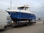 This 250 Arvor on it's way from Hayling Island to Newcastle - click to enlarge