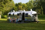 ... having provided a towing service to Holland where the renovation was completed, the new owners are now Glamping (glamourous camping) - click to enlarge