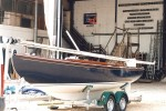 A Tofinou Tadorne delivered from the factory in France to its new owner at the Buckler's Hard Agamennon Marina. - click to enlarge